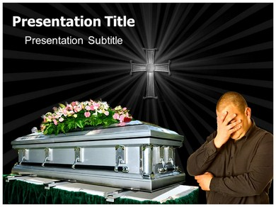 PowerPoint Templates - Backgrounds for Funeral PPT Presentation ...
