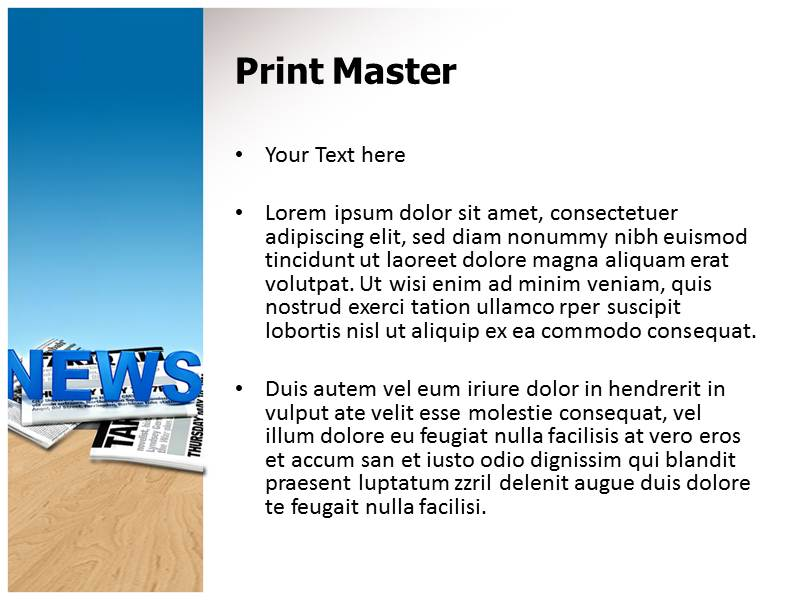 Journalism Powerpoint Templates