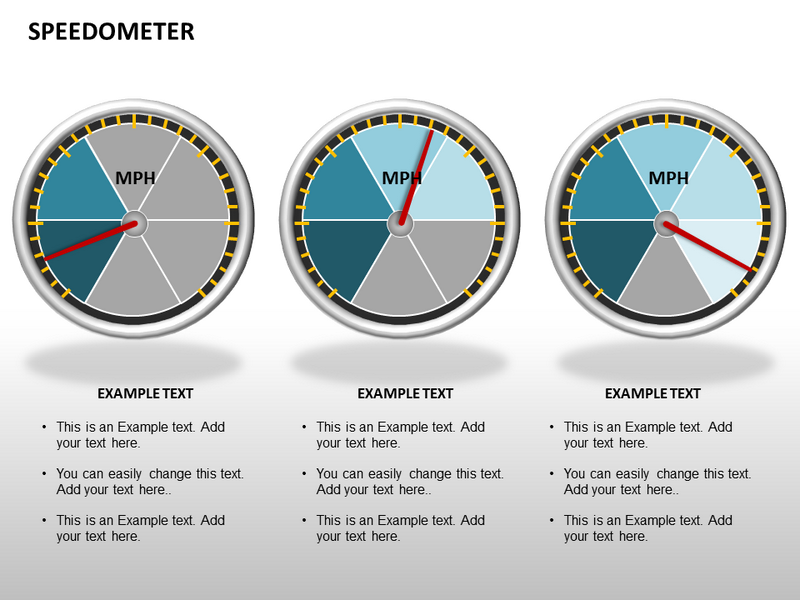 Speedometer Powerpoint Templates