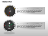 Speedometer powerpoint template download