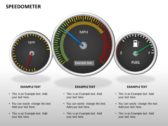 Speedometer ppt templates