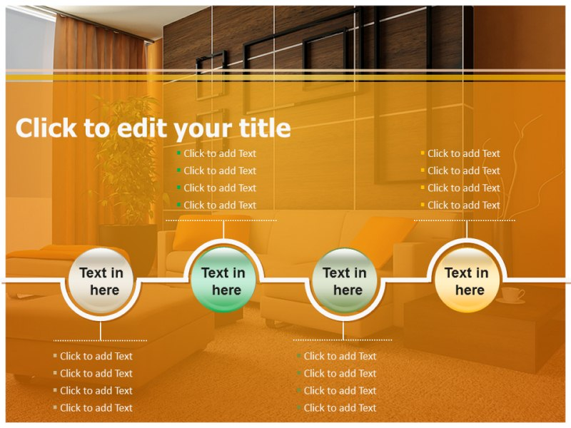 Interior design elements ppt templates – slideworld