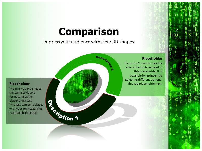 Matrix 2 Powerpoint Templates