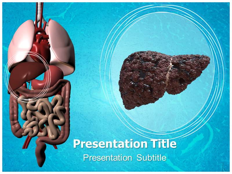 Liver cirrhosis powerpoint templates powerpoint presentation on my toneelgroepblik Gallery