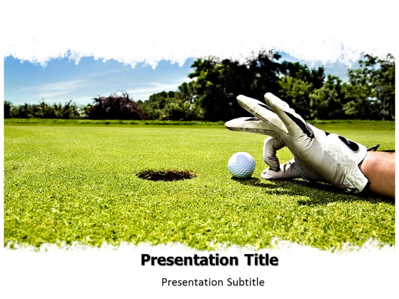 Golf Ppt Powerpoint Templates Golf Powerpoint Presentation