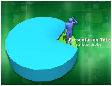 Pie Chart Focus Powerpoint Templates