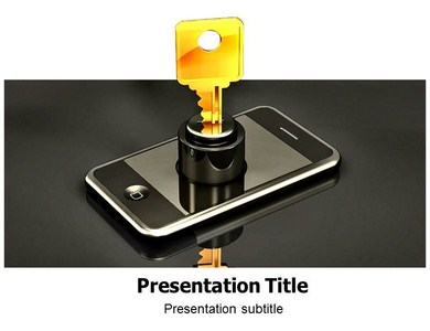 Mobile Security (PPT) Powerpoint Templates | Powerpoint Template for