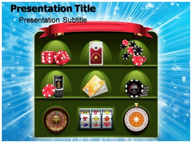 Free powerpoint templates gambling