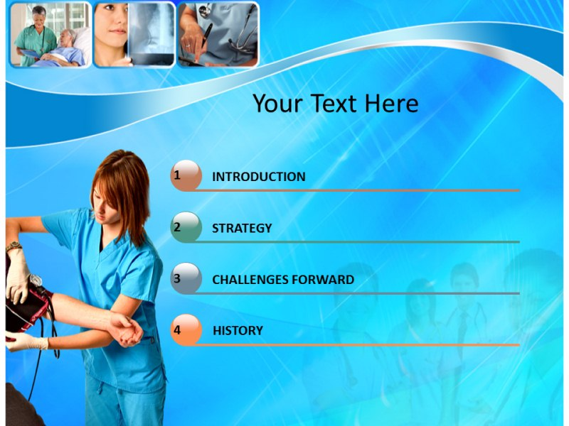 powerpoint ppt template for nursing care slideworld com