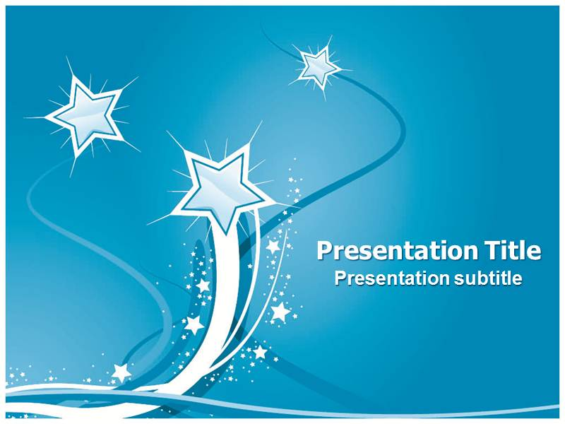 star powerpoint ppt templates powerpoint template for stars