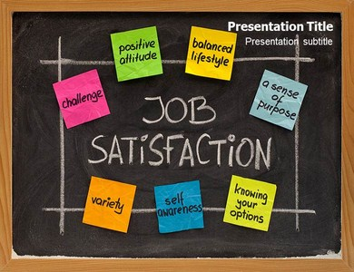 Job Satisfaction 1 Powerpoint Templates