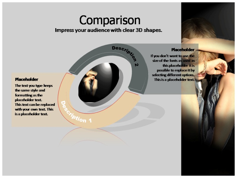 Photophobia Powerpoint Templates