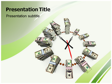 Watch and Money  Powerpoint Templates