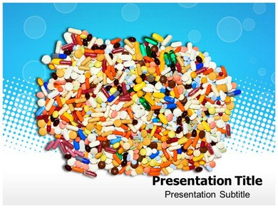 ColourFul Pills Powerpoint Templates