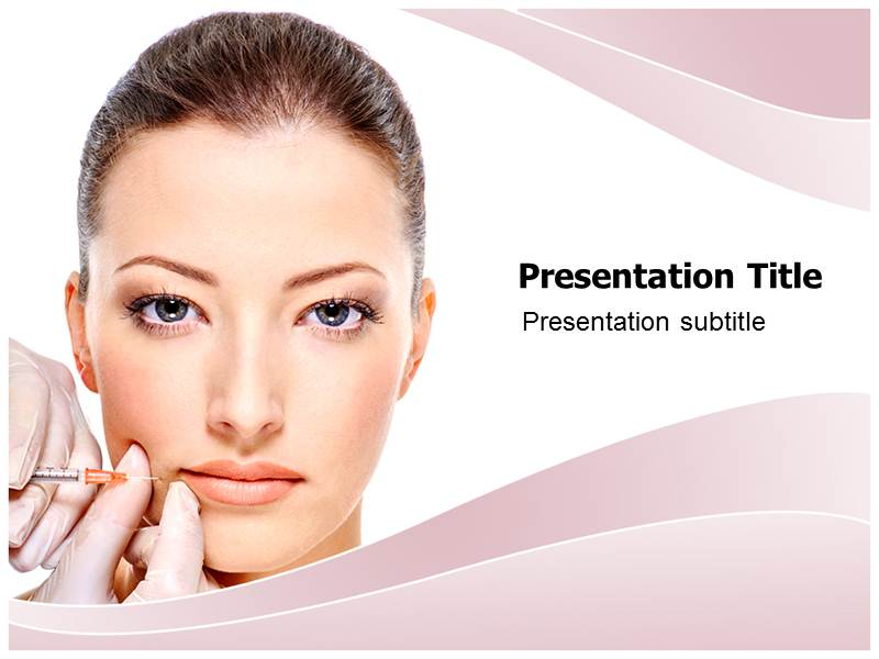 Botox pptpowerpoint templates botox injection templates download toneelgroepblik Choice Image