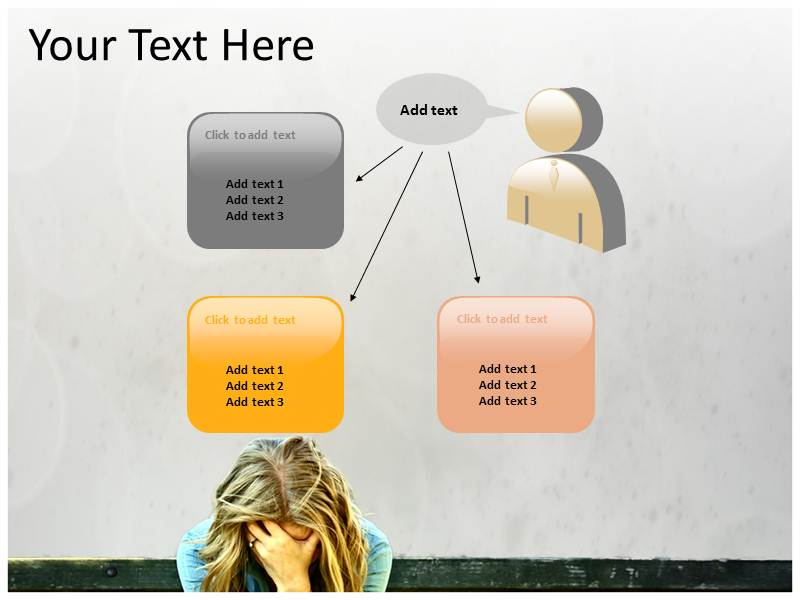 Sad Status Powerpoint Templates