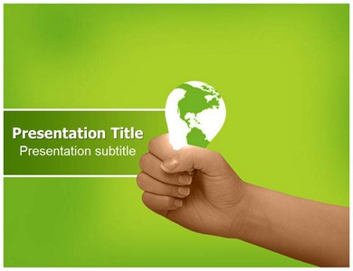 Green World Powerpoint Templates