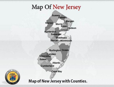 New Jersey  PowerPoint Templates