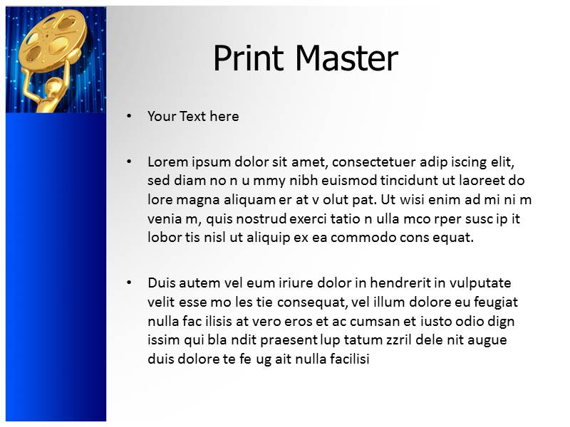 Blockbuster Powerpoint Templates
