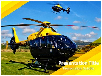 Helicopter 1 Powerpoint Templates