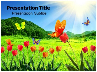 Butterfly Facts Powerpoint Templates