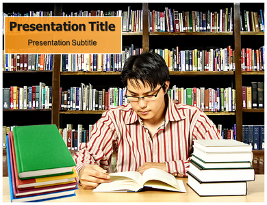 Library Memorial Powerpoint Templates