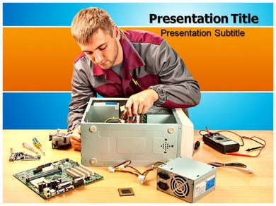 Engineering Support Powerpoint Templates