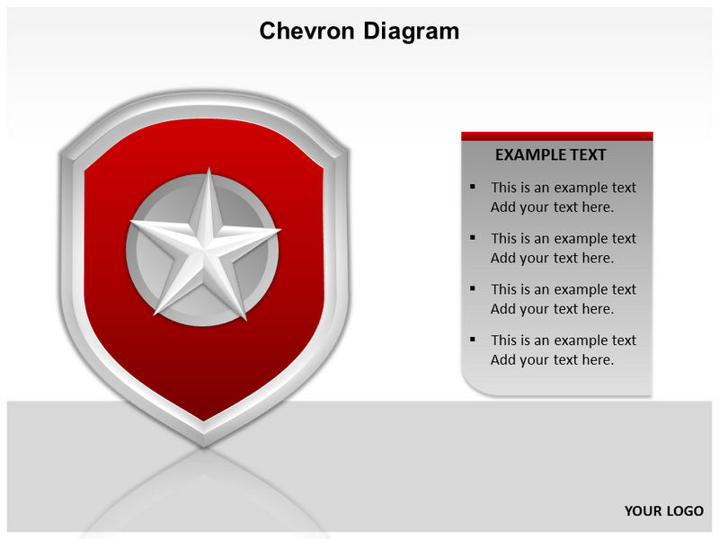 Chevron Diagram 3D Powerpoint Templates