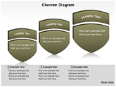 Chevron Diagram 3D ppt templates