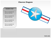 Chevron Diagram 3D slides for powerpoint