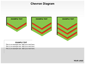 Chevron Diagram 3D powerPoint backgrounds