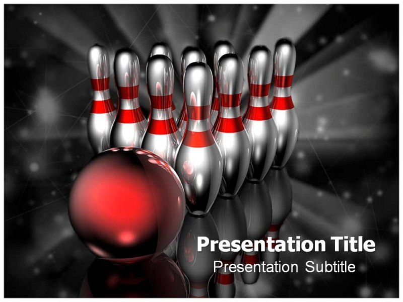 bowling rules powerpoint templates