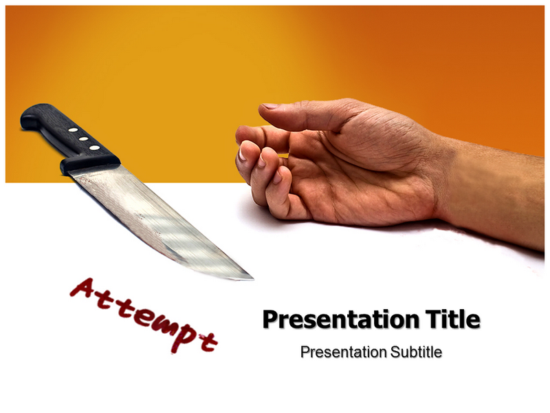 Suicide Prevention Powerpoint Templates
