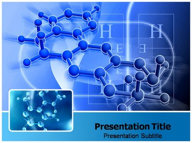 Molecule of Life Powerpoint Templates