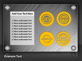Stamps And Seals powerPoint template