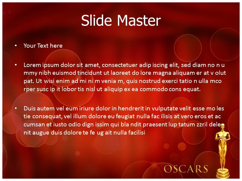 Oscar awards powerpoint template powerpoint background powerpoint my toneelgroepblik Images