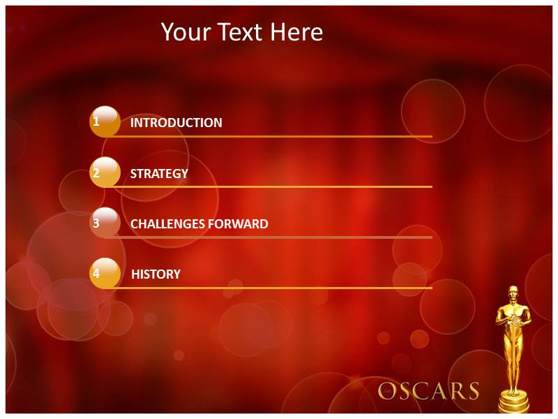 Award powerpoint template eczalinf oscar awards powerpoint template powerpoint background powerpoint toneelgroepblik Gallery