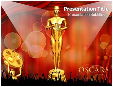 Oscar Awards Powerpoint Templates