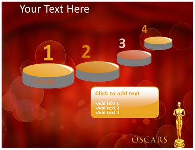 oscar awards powerpoint template powerpoint background powerpoint