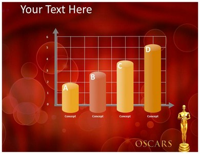 Oscar Awards Templates For Powerpoint