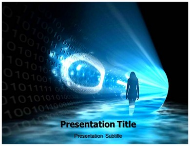 Binary Way Powerpoint Templates