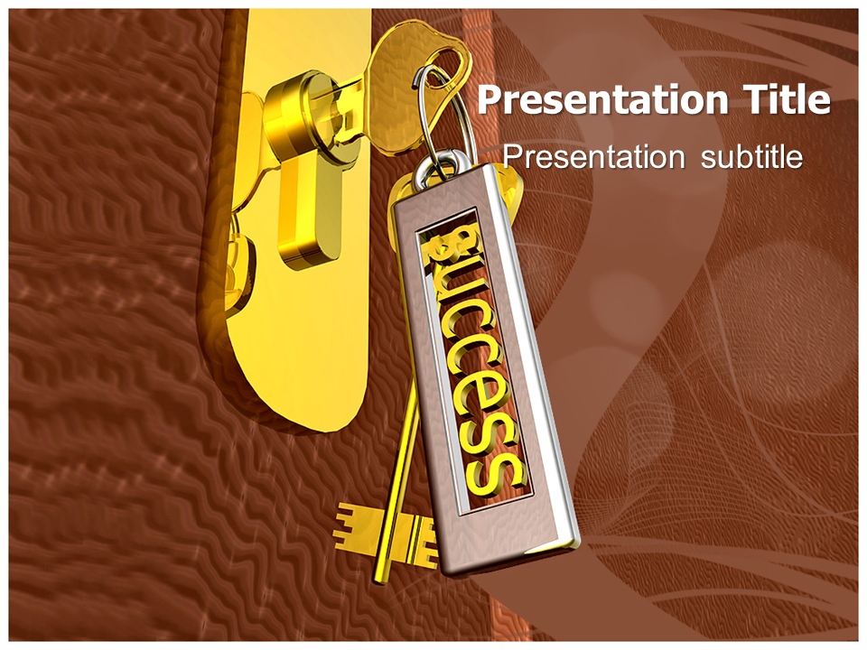 Key To Success In Life Powerpoint Templates