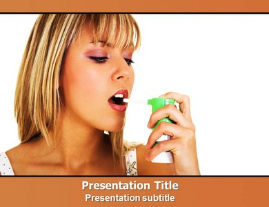 Asthma Attack Powerpoint Templates