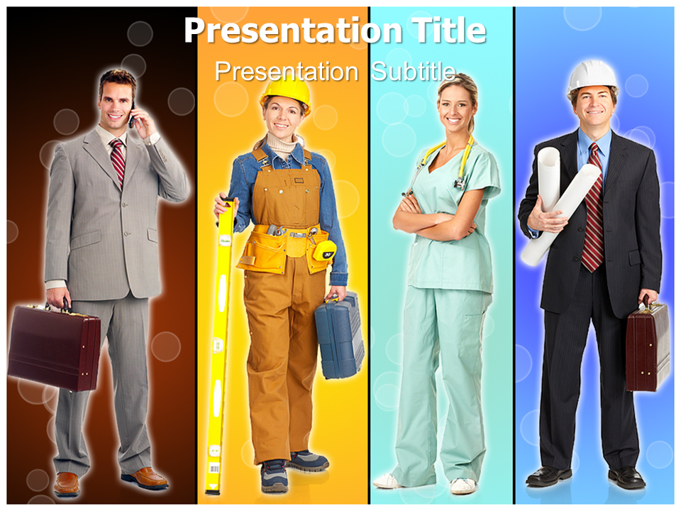 Professionals Lab Powerpoint Templates