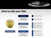 3D Chess ppt themes template