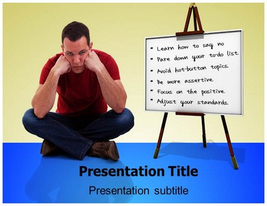 Stress Management Powerpoint Templates