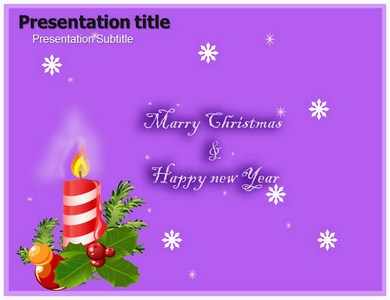 christmas and new year Powerpoint Templates