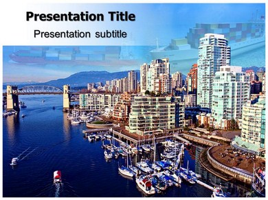 Harbour Powerpoint Templates