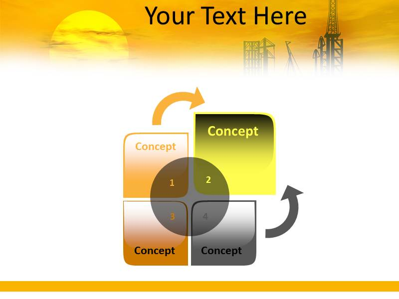 Oil Refinery PowerPoint Templates | Oil Company PPT | Oil