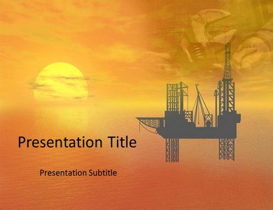 Oil Refinary Powerpoint Templates